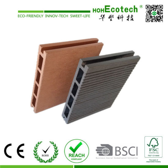 Hot Sales Wood Plastic Composite Flooring / WPC Decking pictures & photos