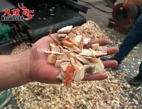 Industrial Shredding Packing Box Waste Pallet Wood Chipper Crusher pictures & photos