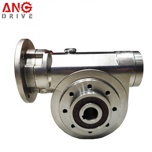 Nmrv Right Angle Square Stainless Steel Speed Worm Gear Reductor