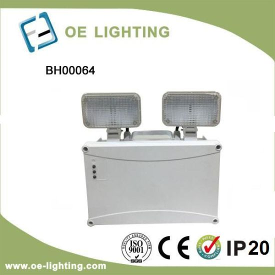 High Quality LED Twin Spotlight Emergency Flood Light with Factory Lowest Price