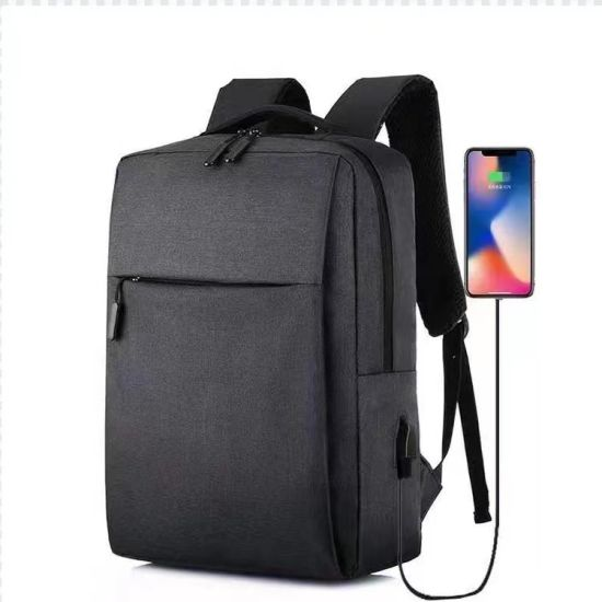 Multifuctional Oxford Waterproof Anti Theft Laptop Backpack with USB Charger