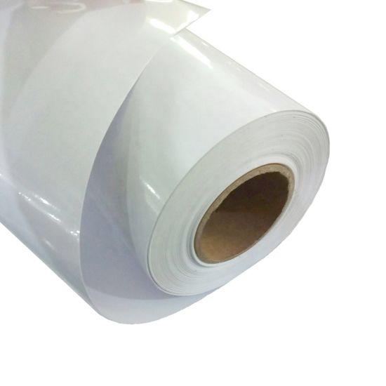 image about Glossy Printable Vinyl identify Eco Solvent Printable PVC Vinyl Shiny White 120g Paper