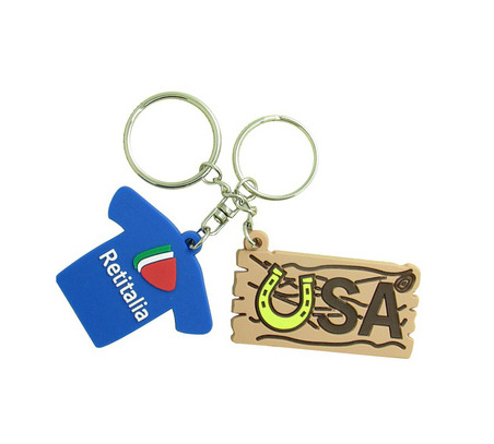 3D Promotion Soft PVC Custom Rubber Key Chain pictures & photos