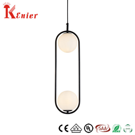Modern Glass Ball Lights, Modern Crystal Chandelier Hanging Pendant Lamp for Home/Hotel Decoration