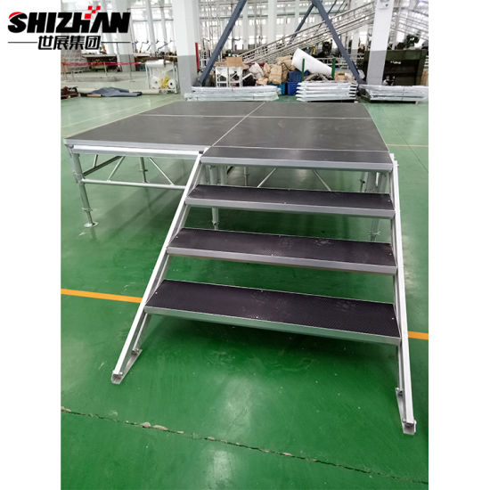 Outdoor Stage Design Stage Floor Lighting Mobile Stage for Performance