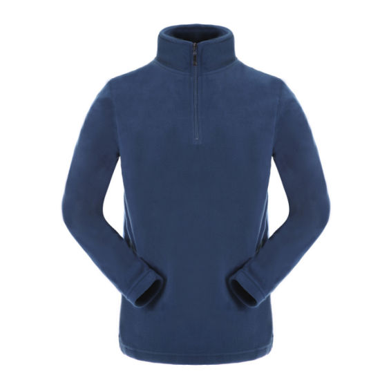 Men Fleece Wear with Stand Collar pictures & photos