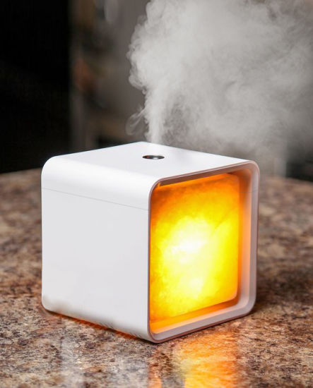120ml Air Essential Oil Aroma Oil Fragrance Diffuser with Salt Lamp and Cool Mist pictures & photos