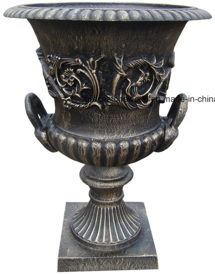 Cast Iron Flower Pot for Garden Decoration pictures & photos