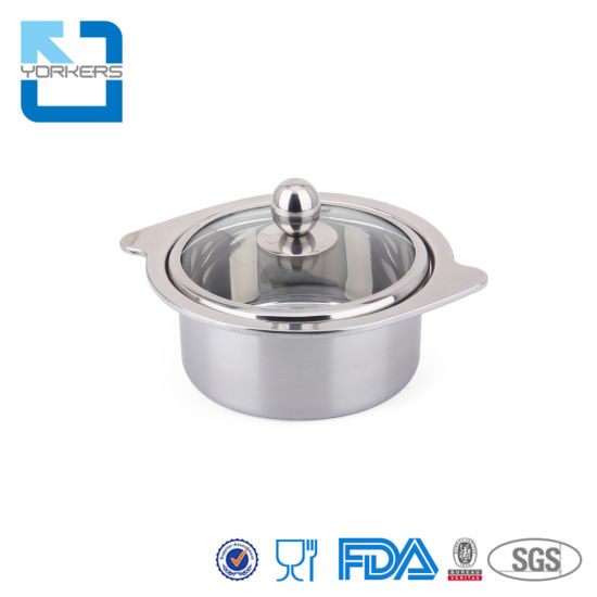 High Quality Stainless Steel Mini Hot Pot Soup Pot for Household for Restaurant