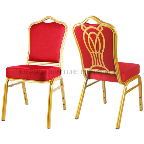 Hot Sales Foshan Good Quality Metal Stackable Banquet Chair (HM-S001)