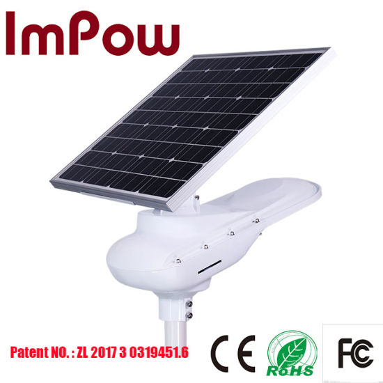 30W Outdoor Lighting All in One Solar LED Street Light
