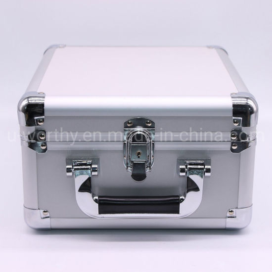 2018 Good Quality Silver Aluminum Briefcase Tool Box Tool Case