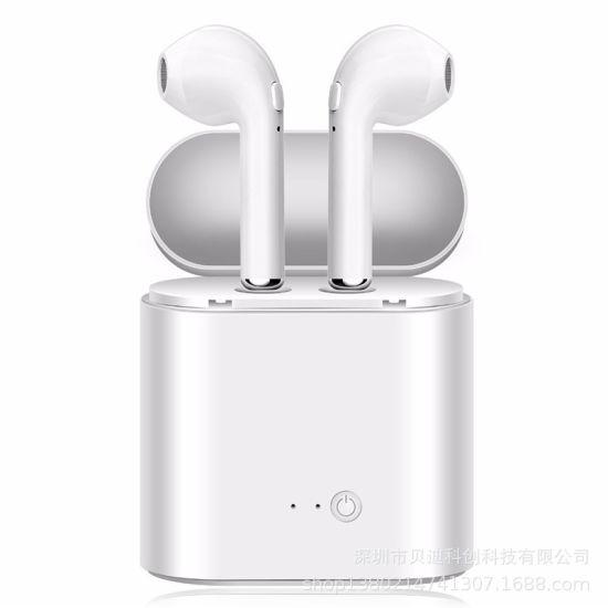 Twin Wireless Earphones I7 I9 Tws Bluetooth Earphones Headphones I9s Mini I7s Bluetooth Earbuds with Charging Box
