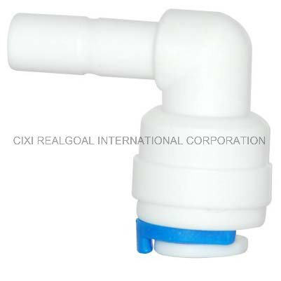 """RO Quick Fitting Manufacturer Elbow 1/4"""" Tube RO Pipe Quick Fitting Connect for RO System Water Filter Purifier"""