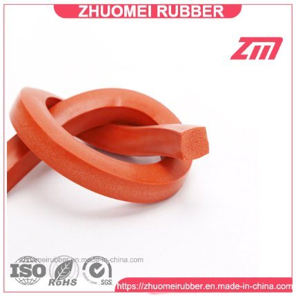 SHOUCAN Square Strip Silicone Foam Strip 5 Meter Durable and Tear Resistant 6/×6//6/×8//8/×8//8/×10mm Suitable for Door and Window,6/×6mm