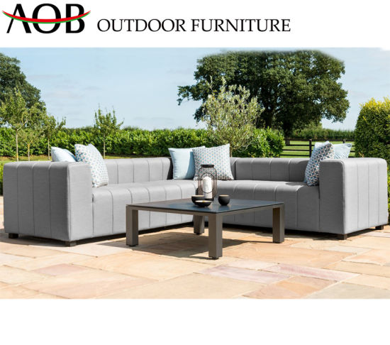 Chinese Modern Outdoor Garden Home Hotel Patio Resort Leisure Lounge Corner Sofa Furniture