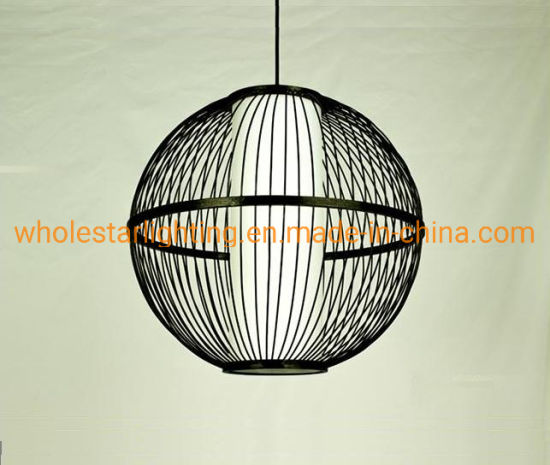 Rattan lamp, bamboo pendant lamp (WHP-373) pictures & photos