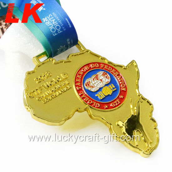 Custom Enamel Metal Medals Sports Import From China