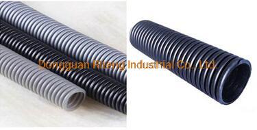 Muiti Color Large Diameter High Chemicals Resistance 2 Inch ID 50 mm Large Plastic Corrugated PTFE Hose Teflon Pipe