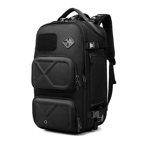 Fashion Men New Style Laptop Computer Notebook Double Shoulder Waterproof Outdoor Casual Travel Luggage Storage Backpack Bag Pack (CY3749)