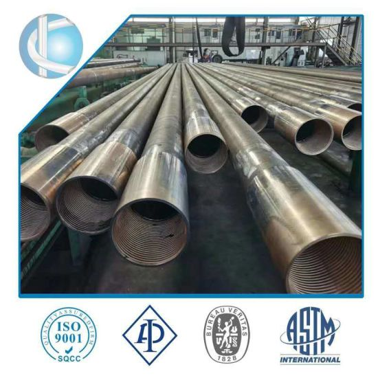 High Quality Seamless J55/K55/L80/R95/N80/C90/T95/C110/P110/Q125 Steel Oil Drilling Casing Pipe for OCTG
