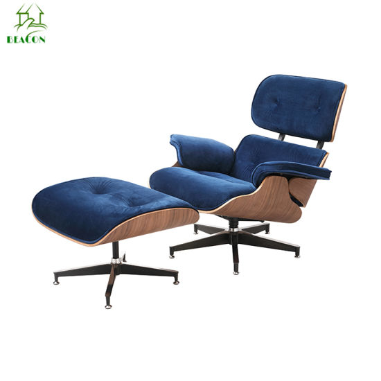 Pleasant Modern Designer Furniture Replica Leather Rose Wood Charles Eames Lounge Chair Caraccident5 Cool Chair Designs And Ideas Caraccident5Info
