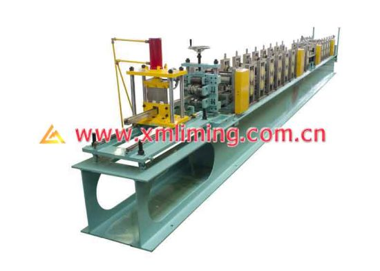 Liming Roll Forming Machine for Door Guide Rail with Rubber Seal