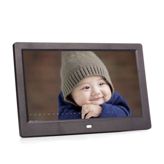 10.1 Inch 1024*600 LCD Display Digital Photo Frame with LED Backlight