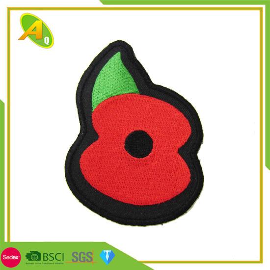 16d8612da017 China Wholesale Custom UK Poppy Souvenir World War Flower Shape ...