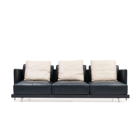 Astonishing Dubai Sofa Furniture Good Quality Modern Design Luxury Black Leather Sofa With Metal Frame For Hotel Living Room With Throwaway Pillow Creativecarmelina Interior Chair Design Creativecarmelinacom