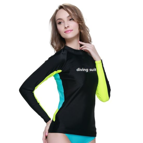 Lycra Sportsuit Diving Suit Swimsuit Surfing Suit for Beachwear Diving for Girl