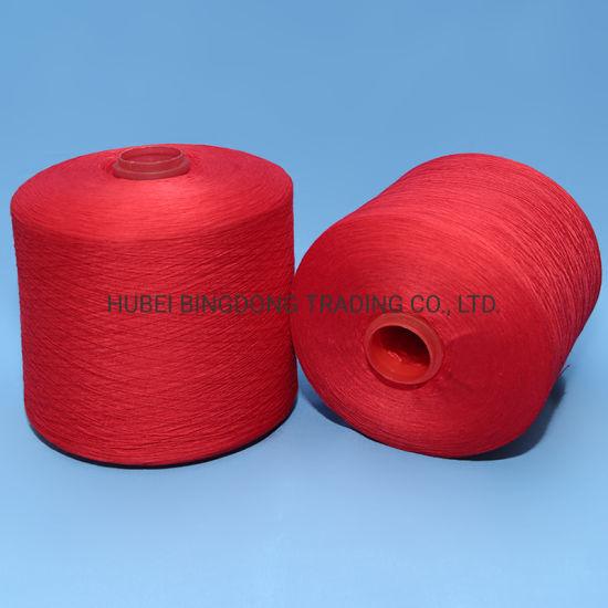 20s/2 Dye Tube Colored 100% Spun Polyester Yarn