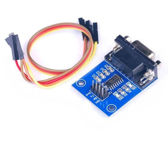 1Pcs Converter Module RS232 To Ttl Female Serial Module MAX3232 ik