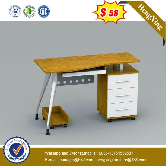 Chinese MDF Wooden Study Computer Table Modern Office Standing Desk pictures & photos