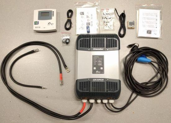 Steca Inverter Xtender Xtm2400-24 Sine Wave Car Inverter Boat Inverter 2400W DC to AC