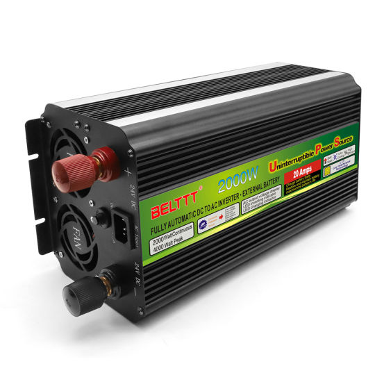 Modified Sine Wave Inverter DC to AC 2000W UPS Inverter Solar Power Inverter pictures & photos