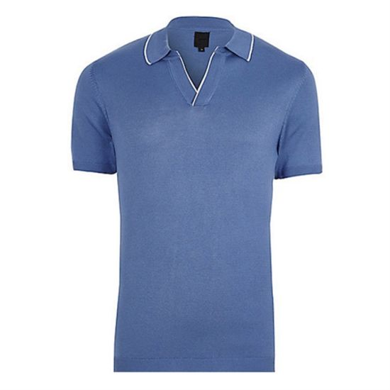100 Polyester Wholesale Blue Xxxl Polo Shirts pictures & photos