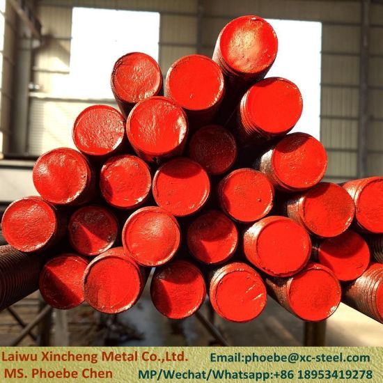 China ASTM A193 B7 /B7m /B16 Threaded Rods 1/2′′ to 4′′ / 8-13unc Threaded  Rod