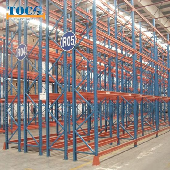 Hot Seller Cage Container Pallet Double Deep Racking System