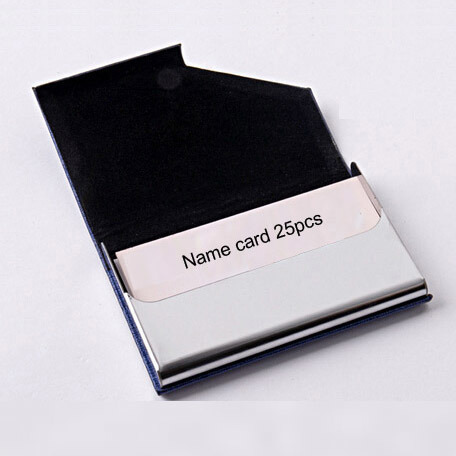 PU Leather Credit Card Holder Pop up Credit Card Holder Custom Logo
