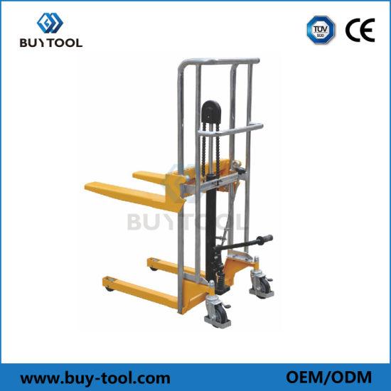 Buytool PF4150 Economic Hydraulic Manual Fork Type Stacker