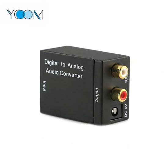 YCOM Factory Price Digital to Analog Audio Converter with 3.5mm