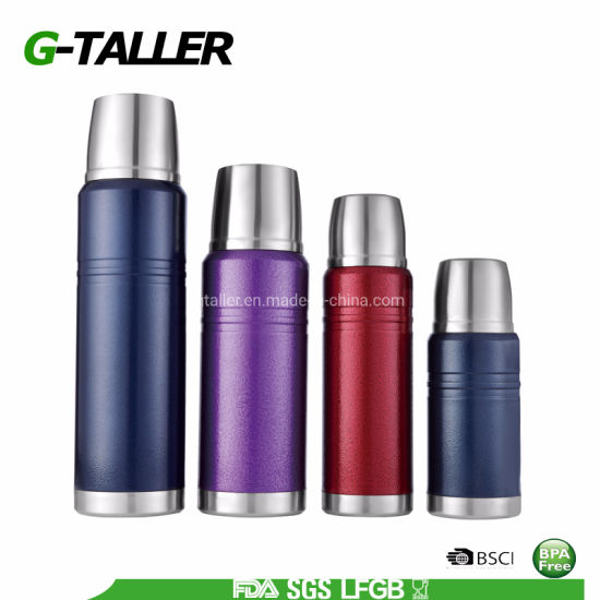 Customized Colors 304 Stainless Steel Vacuum Flask