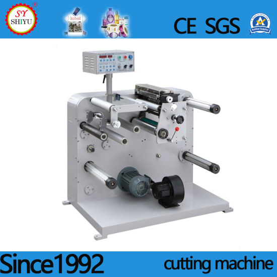 Automatic Big Unwinder Logo Paper Label Slitting Machinery