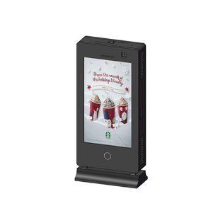 Yeroo Outdoor Street Furniture 55inch Double Sided LCD Display