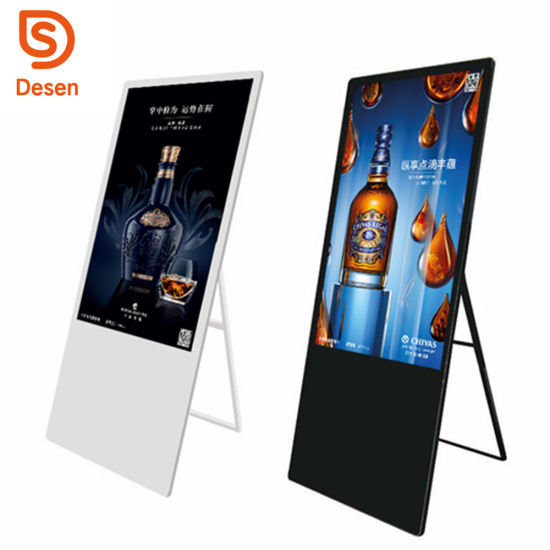 China Hot Selling Digital Billboard Indoor LED Poster