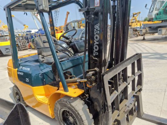 China Used Toyota 2 5t Forklift for Sale - China Diesel