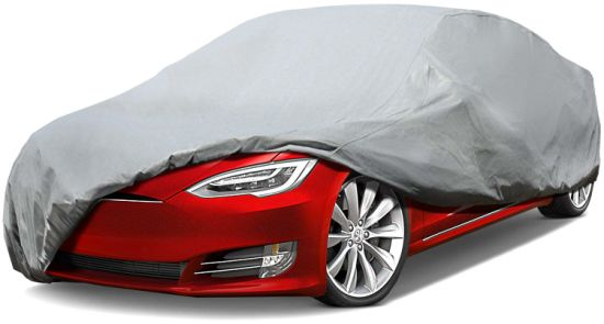 7 Layer Super Soft Car Cover with Cotton Outdoor Protect Against Scratch