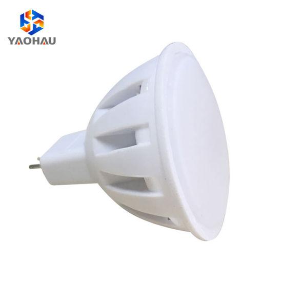 Long Lifetime 50000 Hour Plastic Housing 2W 3W 4W SMD2835 LED Spotlight Lamp Cup