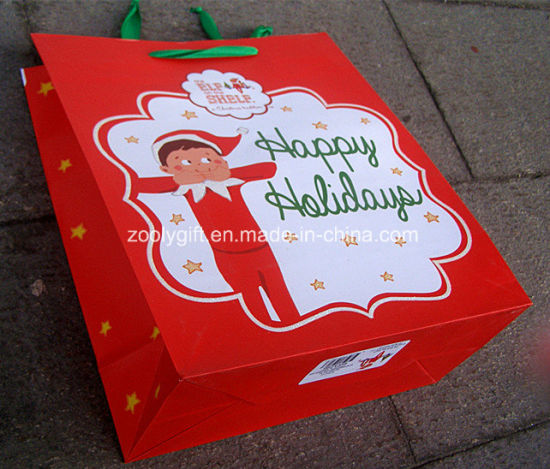 Wholesale Stamping Happy Birthday Printing Paper Gift Bags